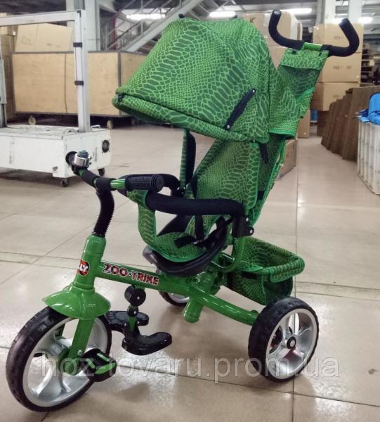Велосипед трехколесный TILLY ZOO-TRIKE T-342 большие колёса (4 расцветки)