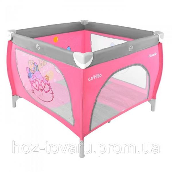 Манеж CARRELLO Grande CRL-7401 Pink