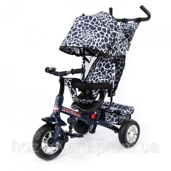 Трёхколёсный велосипед Combi Trike Zoo-Trike BT-CT-0005 Чёрный с белым (3 цвета)