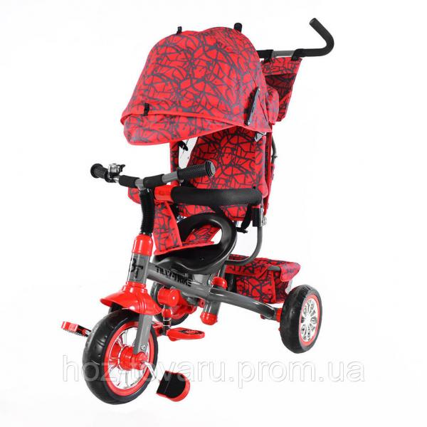 Трёхколёсный велосипед TillyTrike T-341 колеса EVA (4 цвета)