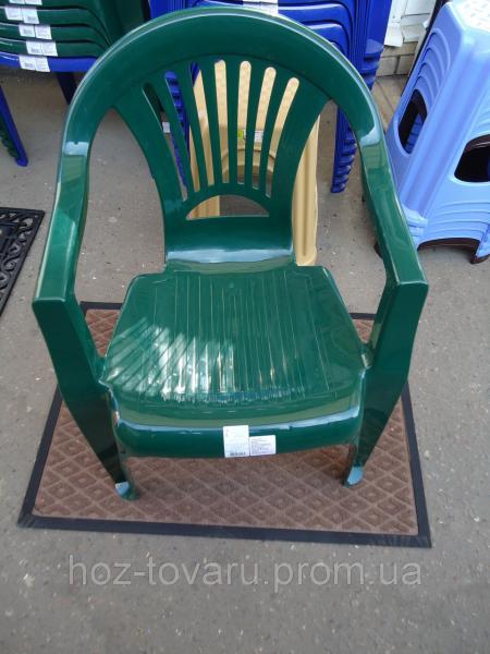 Кресло зеленое тюльпан