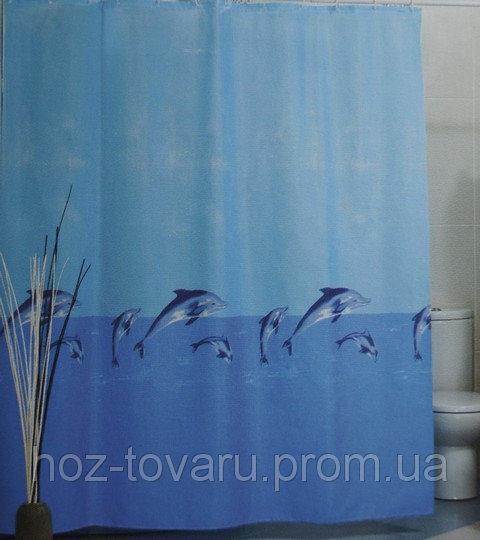 Шторка,занавеска в ванную комнату Miranda(дельфины)