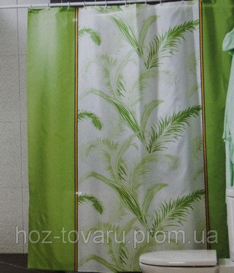 Шторка,занавеска в ванную комнату Miranda(тропик)