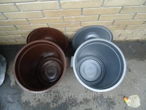 Фото Хозяйственные изделия из пластмассы, Тазы,баки,ванночки,корыта,ящики Бак с крышкой  30 л