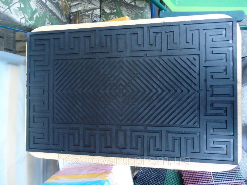 Коврик резиновый 72 см*45 см абстракция