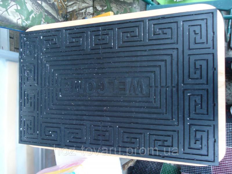 Коврик резиновый 74 см*46 см абстракция 4