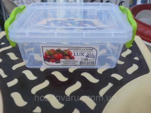 Фото Хозяйственные изделия из пластмассы, Пищевые пластиковые контейнера Судок 0,5Л