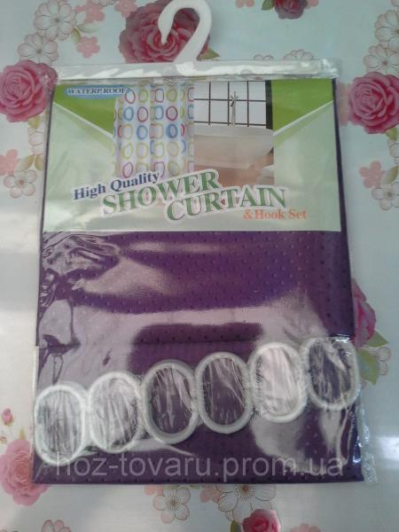 Шторка в ванную комнату тканевая shower curtain 2