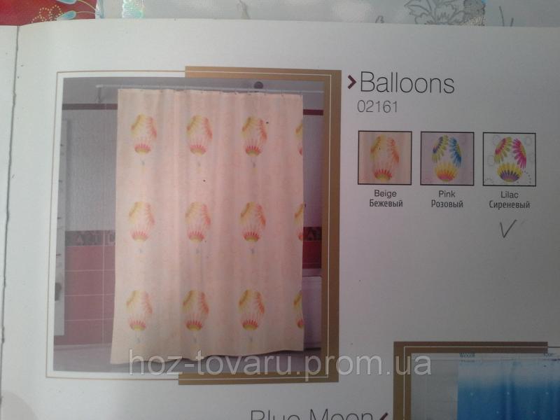 Шторка,занавеска в ванную комнату Miranda(balloons)