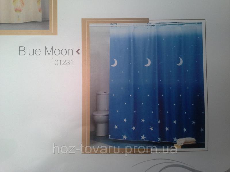Шторка,занавеска в ванную комнату Miranda(blue moon)
