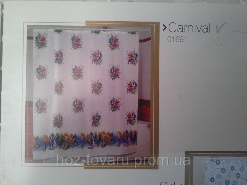 Шторка,занавеска в ванную комнату Miranda(carnival)