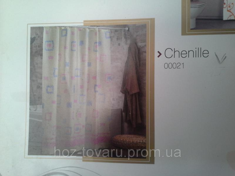 Шторка,занавеска в ванную комнату Miranda(chenille)