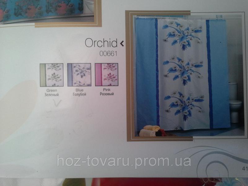 Шторка,занавеска в ванную комнату Miranda(orchid)