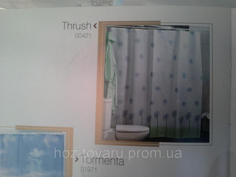 Шторка,занавеска в ванную комнату Miranda(thrush)