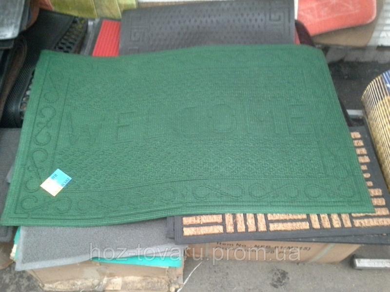 """Коврик """"Люкс 3""""  с ворсой на резиновой основе  116 см*73 см"""