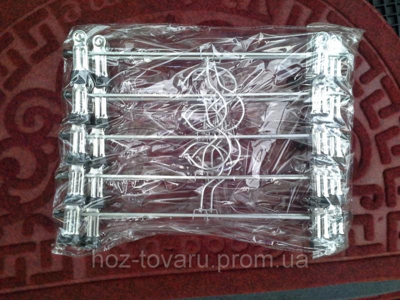 Тремпеля металлические брючные(10 шт в пачке)
