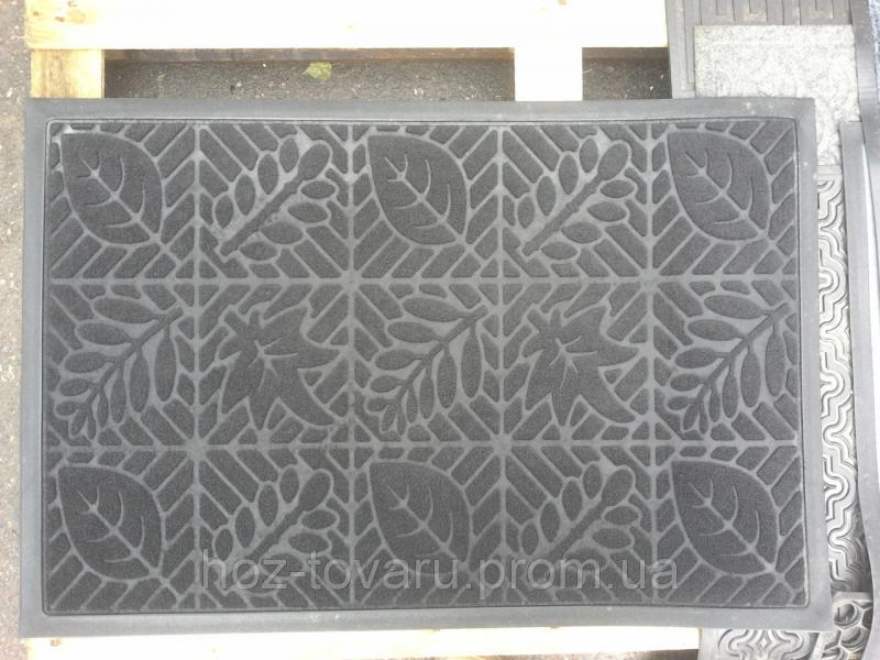 Коврик под двери с окантовкой и узором(6) 60 см*90 см