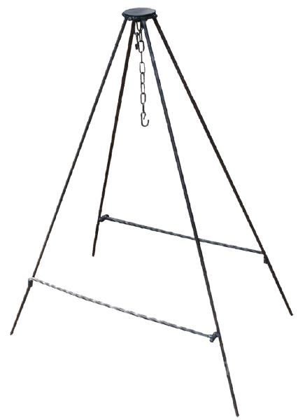 Подставка (четыренога) походная для казана (БеМаС)