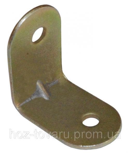 Уголок крепежный №2/2 тонкий (25х25х16х1-1,2) ТМ БеМаС
