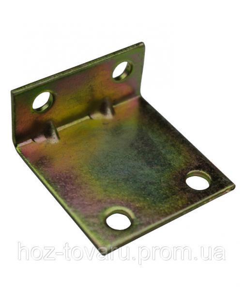 Уголок крепежный №37 разносторонний (35х15х35х1.4-1.6) ТМ БеМаС