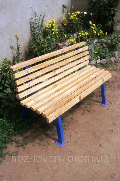 Лавочка (скамейка) садовая, парковая, дачная 1500 мм. ТМ БеМаС