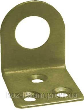 Проушина № 80 (40х40х40х2 мм.) равносторонняя (тм БеМаС)