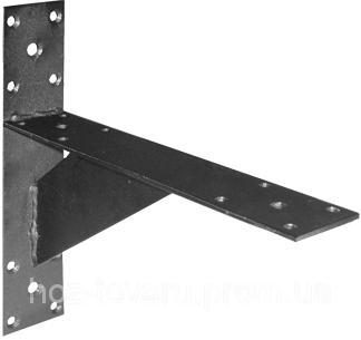 Кронштейн №2 для стеллажных полок (Цинк) (ТМ БеМаС)