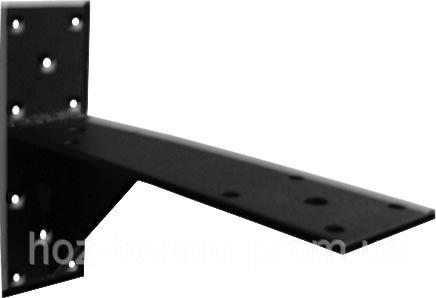 Кронштейн №3 для полок гаражных (Полимерное покрытие)  (ТМ БеМаС)