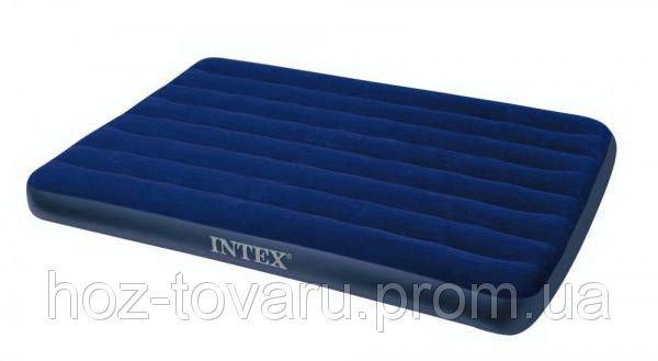 Надувной матрас велюр Intex 68758