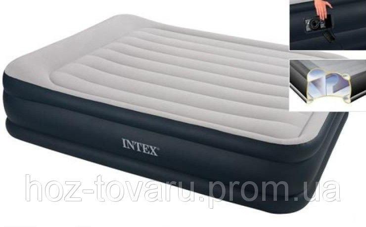 Надувная велюр кровать 67738