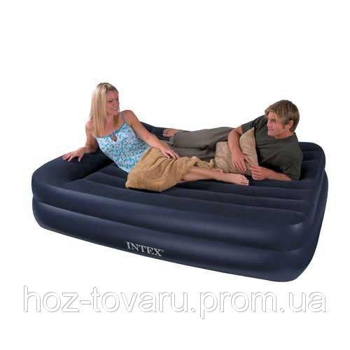 Надувная велюр кровать 66720