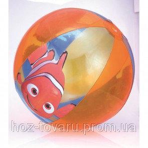 """Мяч пляжный """"В поисках Немо"""", 51 см, от 2 лет 91108"""