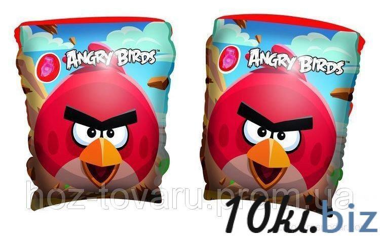 Bestway Бествей 96100 Нарукавники «Angry Birds» Надувные жилеты, нарукавники, круги на Электронном рынке Украины