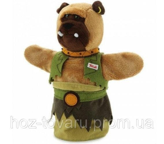 Мягкая игрушка на руку Собака Орк Trudi (29974) 23 см Труди