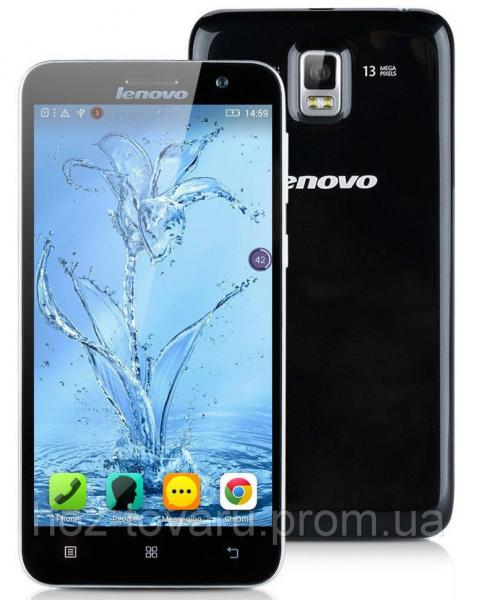 Lenovo A8/A806 Black  2/16 Gb, MT6592, 3G, 4G