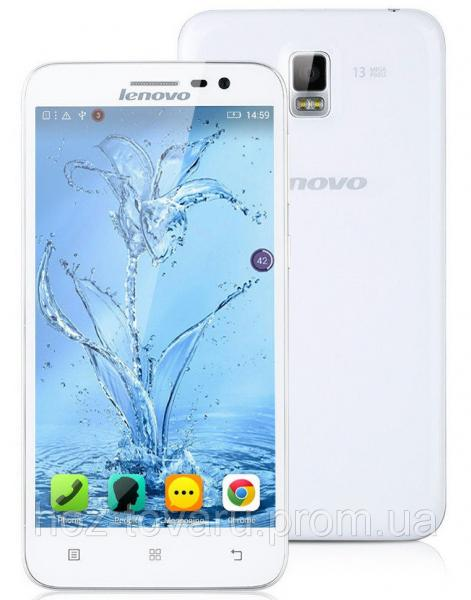 Lenovo A8/A806 White  2/16 Gb, MT6592, 3G, 4G