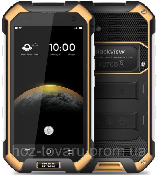 Blackview BV6000S black-yellow IP68 2/16 Gb