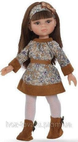 Кукла Керол в коричневом Paola Reina (34586)  без коробки