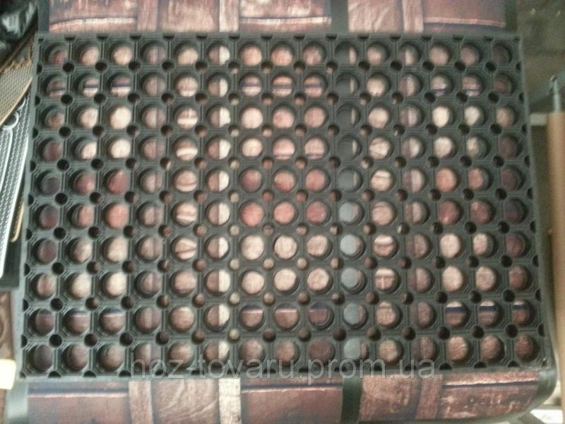 Коврик резиновый сота 3(60 см *40 см*2 см)