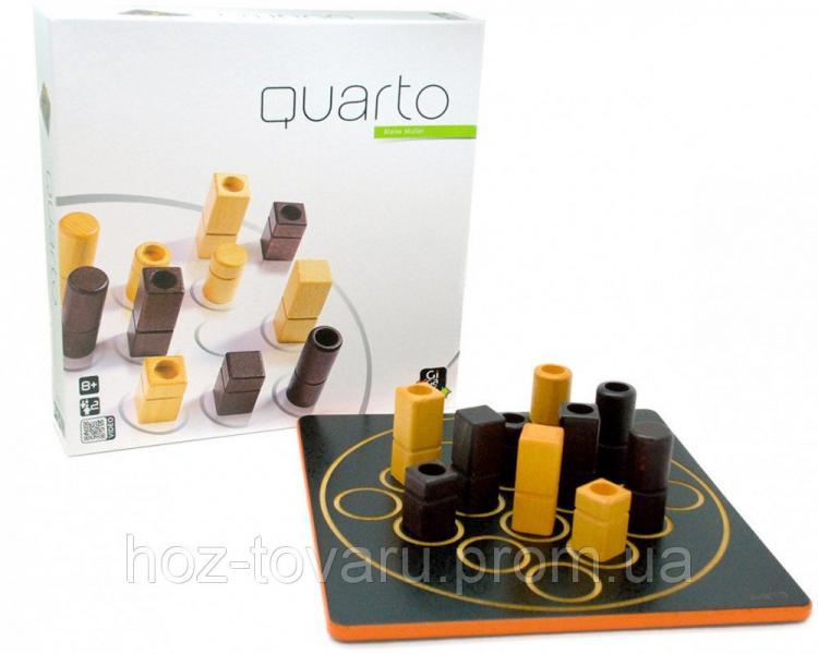 Настольная игра QUARTO Gigamic (30041) Джигамик