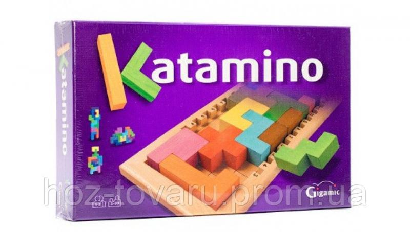 Настольная игра KATAMINO Gigamic (30201) Джигамик