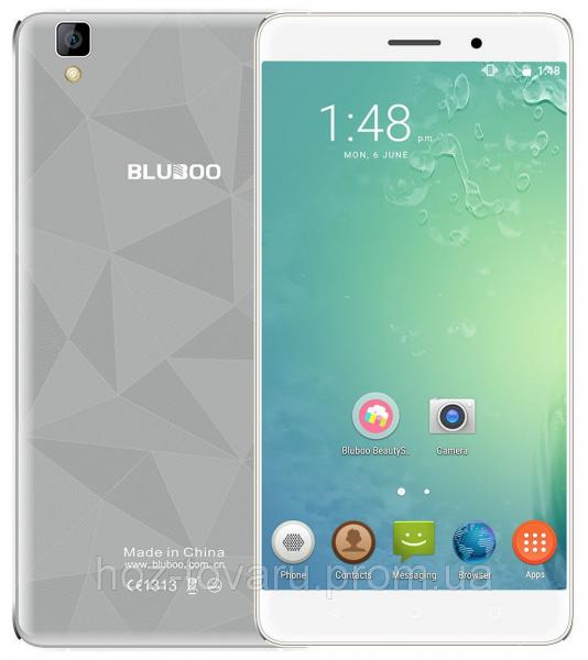 Bluboo Maya gray  2/16 Gb, MT6580, 3G