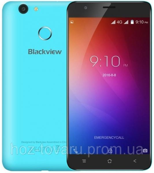 "Blackview E7 Blue 1/16 Gb, 5,5"", MT6737, 3G, 4G"