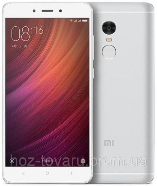 "Xiaomi Redmi NOTE 4 silver 2/16 Gb  5.5"", MT6797, 3G, 4G"