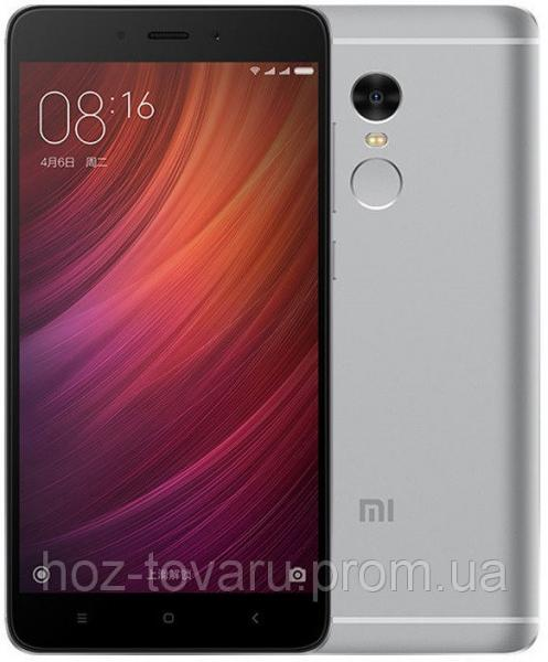 "Xiaomi Redmi NOTE 4 gray 3/64 Gb  5.5"", MT6797, 3G, 4G"