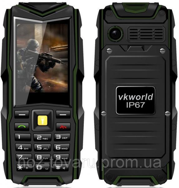 """VKworld Stone V3 Green IP67 2.4"""", MTK6531CA"""