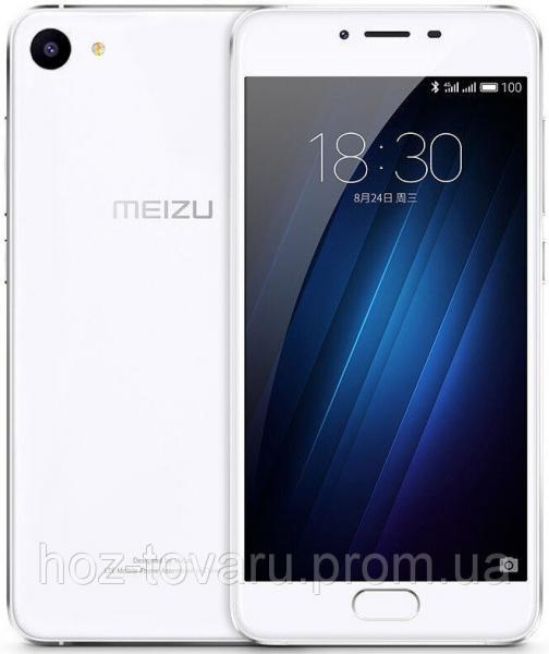 "Meizu U10 White 2/16 Gb, 5"", MT6750, 3G, 4G"