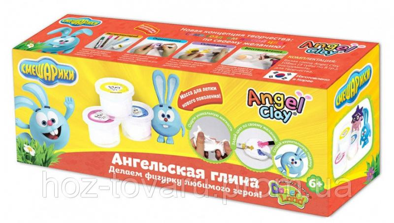 """Мягкая глина Angel Clay набор """"Смешарики. Крош """" (AA03031SA)"""