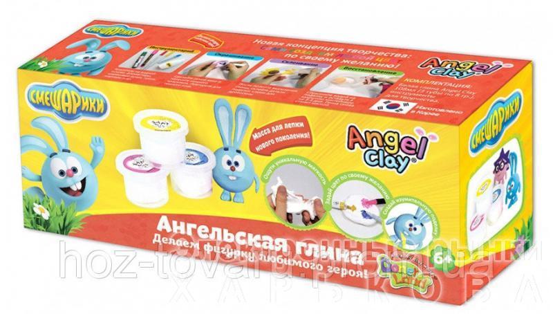 """Мягкая глина Angel Clay набор """"Смешарики. Крош """" (AA03031SA) - Пластилин и масса для лепки на рынке Барабашова"""