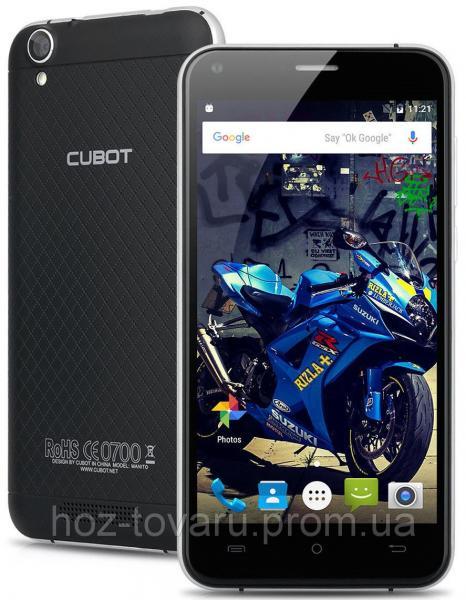 "Cubot Manito black 3/16 Gb, 5"", MT6737, 3G, 4G"